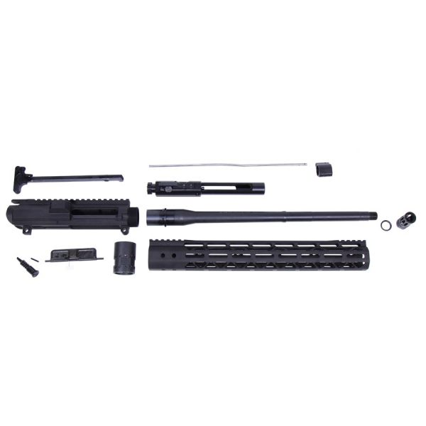 AR .308 Cal Complete Upper Kit (Mod Lite Series M-LOK Hg) (Anodized Black)