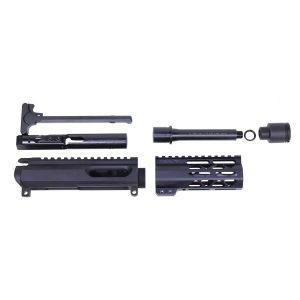 "AR-15 9mm Cal Complete Upper Kit (5"" AIR-LOK Series M-LOK Hg)"