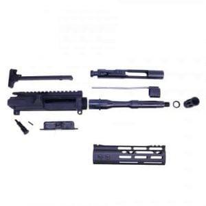 AR-15 5.56 Cal Complete Upper Kit (Pistol Length) (Modlite M-LOK Hg)