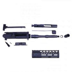 AR-15 5.56 Cal Complete Upper Kit (Pistol Length) (Ultra light M-LOK Hg)