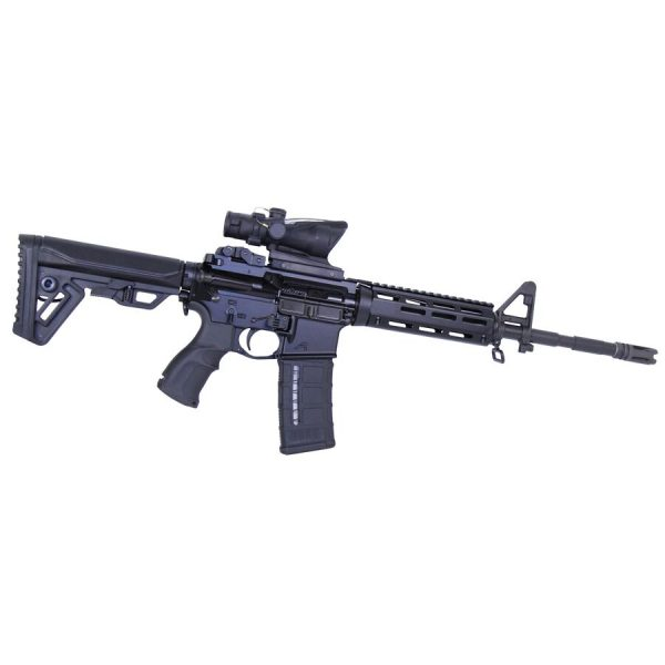 """AR-15 7"""" Aluminum Carbine Length Drop In M-LOK Free Floating Handguard With Monolithic Top Rail"""