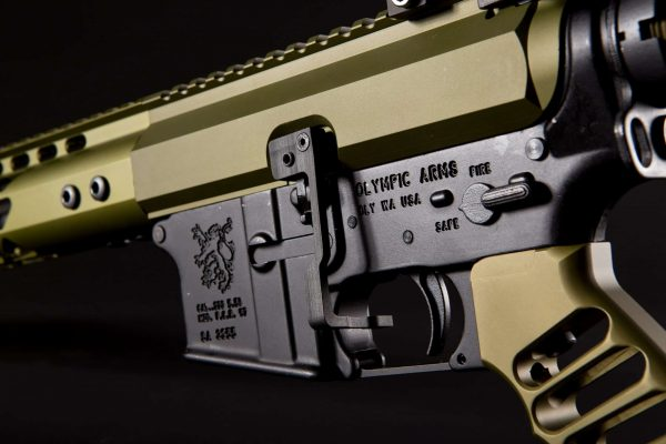 AR-15 Extended Bolt Catch Release