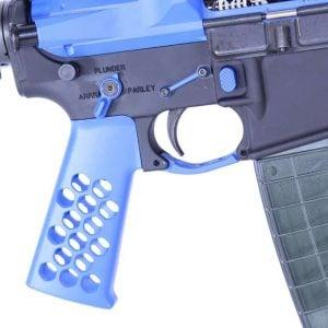 AR-15 Lower Upgrade Kit Enhanced (L.U.K.E) (Cerakote Blue)