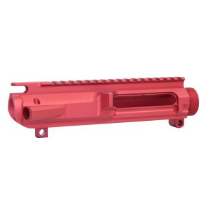 AR .308 Cal Stripped Billet Upper Receiver (Gen 2) (Anodized Red)