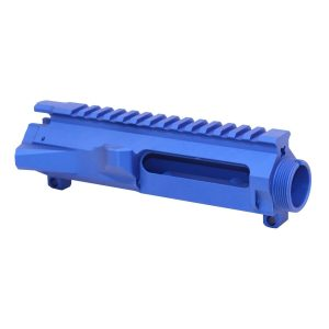 AR-15 Stripped Billet Upper Receiver (Anodized Blue)