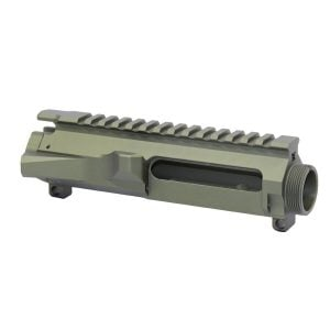 AR-15 Stripped Billet Upper Receiver (Anodized Green)