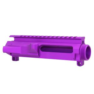 AR-15 Stripped Billet Upper Receiver (Anodized Purple)