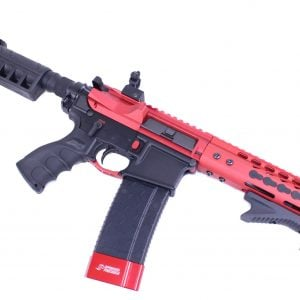 AR-15 Stripped Billet Upper Receiver (Anodized Red)
