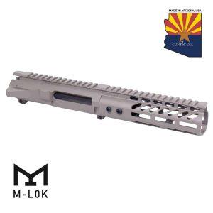 """AR-15 Stripped Billet Upper Receiver &Amp; 7"""" Ultralight Series M-LOK Handguard Combo Set (Flat Dark Earth)"""