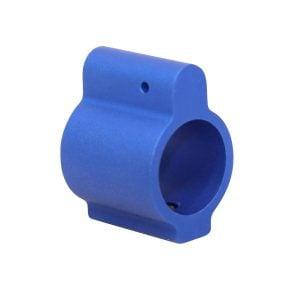 AR-15 Aluminum Low Profile .750 Gas Block (Anodized Blue)