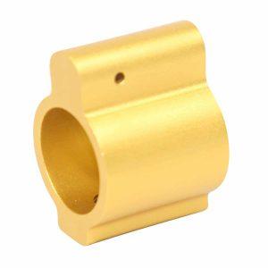 AR-15 Aluminum Low Profile .750 Gas Block (Anodized Gold)
