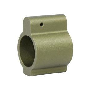 AR-15 Aluminum Low Profile .750 Gas Block (Green)