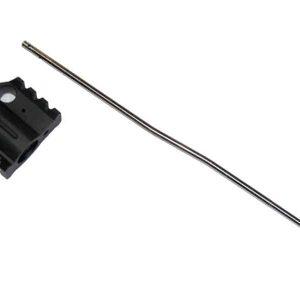AR-15 Aluminum Rail Height Gas Block With Carbine Length Gas Tube