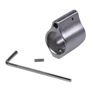 AR-15 Matte Stainless Steel Low Profile Gas Block
