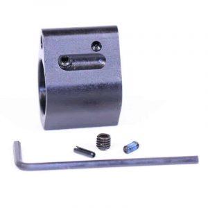 AR-15 Adjustable Steel Low Profile Gas Block (Us Made)