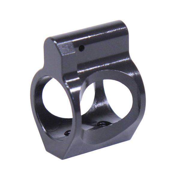 AR-15 Ultralight Series Skeletonized Steel Low Profile Gas Block (Nitride Finish)