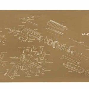 AR-15 Armorer's Gun Cleaning/Assembly Mat