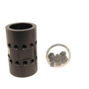AR-15 Free Floating Handguard Barrel Nut For Ultralight Jk Series (Aluminum)