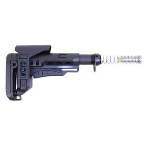 AR .308 Cal M.C.S Stock (Multi Caliber Collapsible Stock) W/ Adjustable Cheek Riser