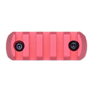 """2.25"""" Removable M-LOK Accessory Rail (Anodized Red)"""