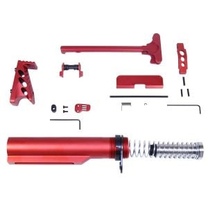 AR-15 Accessory Accent Kit (Anodized Red)