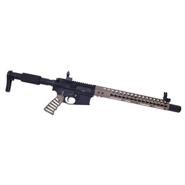 AR-15 Muzzle Comp With Qd Blast Shield