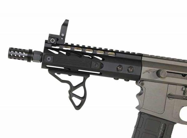 AR 300 Blackout Muzzle Comp With Qd Blast Shield