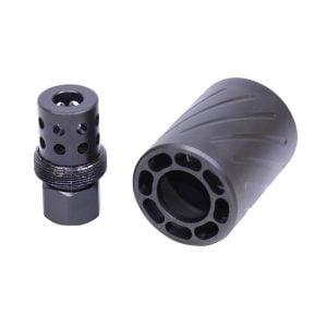 AR 9mm Muzzle Comp With Qd Blast Shield (Micro Version)