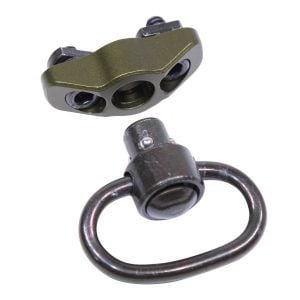 QD Swivel With Adapter For M-LOK System (Gen 2) (Anodized Green)