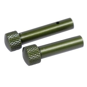 AR 5.56 Cal Extended Takedown Pin Set (Gen 2)(Anodized Green)