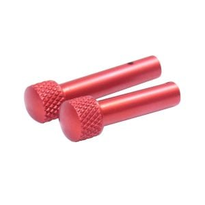 AR 5.56 Cal Extended Takedown Pin Set (Gen 2) (Anodized Red)