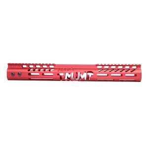 """AR-15 'Trump MAGA Series' Limited Edition 15"""" Free Floating M-LOK Handguard (Gen 2) (Anodized Red)"""