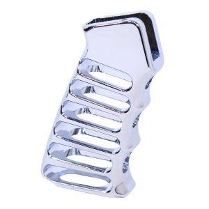 Ultralight Series Skeletonized Aluminum Pistol Grip (Chrome)