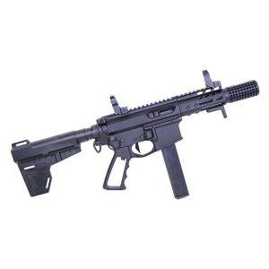 Ultralight Series Skeletonized Aluminum Pistol Grip (Gen 2) (Anodized Black)