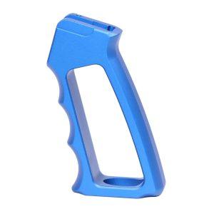 Ultralight Series Skeletonized Aluminum Pistol Grip (Gen 2) (Anodized Blue)
