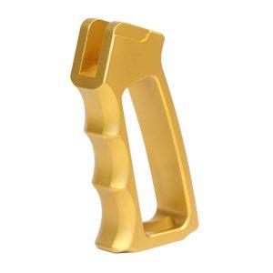 Ultralight Series Skeletonized Aluminum Pistol Grip (Gen 2) (Anodized Gold)