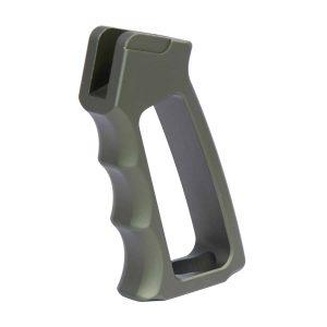 Ultralight Series Skeletonized Aluminum Pistol Grip (Gen 2) (Anodized Green)