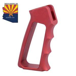 Ultralight Series Skeletonized Aluminum Pistol Grip (Gen 2) (Anodized Red)