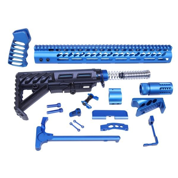 AR-15 Ultimate Rifle Kit (Anodized Blue)