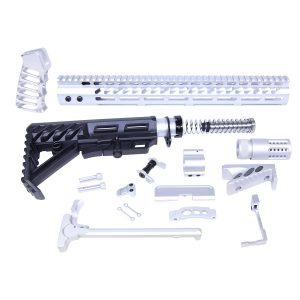AR-15 Ultimate Rifle Kit (Anodized Clear)