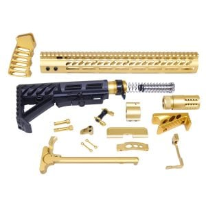 AR-15 Ultimate Rifle Kit (Anodized Gold)