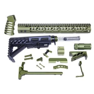 AR-15 Ultimate Rifle Kit (Anodized Green)