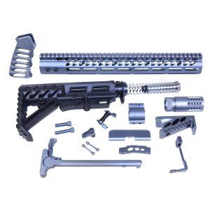 AR-15 Ultimate Rifle Kit (Anodized Grey)