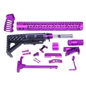 AR-15 Ultimate Rifle Kit (Anodized Purple)