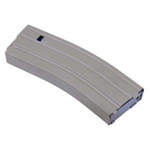 AR 5.56 Cal Aluminum 30 Rnd Mag With Anti-Tilt Follower (Flat Dark Earth)