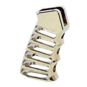 Ultralight Series Skeletonized Aluminum Pistol Grip (Gold Plated)
