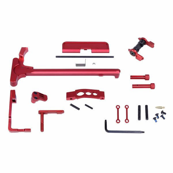 AR-15 Accent Kit (Anodized Red)
