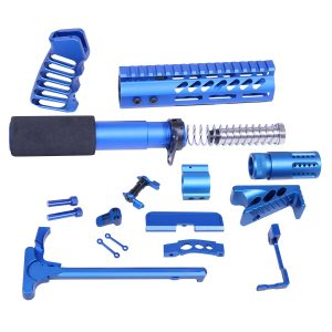 AR-15 Ultimate Pistol Kit (Anodized Blue)