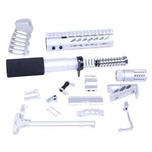 AR-15 Ultimate Pistol Kit (Anodized Clear)