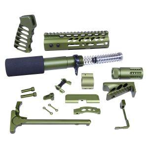 AR-15 Ultimate Pistol Kit (Anodized Green)